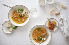 Recipe: White Bean and Chorizo Soup - Condé Nast Traveler