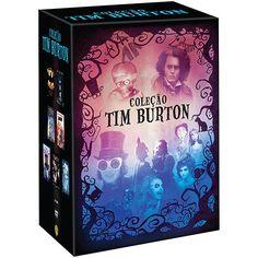 Coleção Tim Burton (7 DVDs)