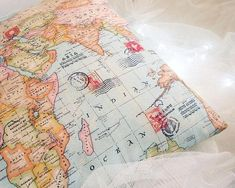 Pillow Cover [World Map] – One for Humanity
