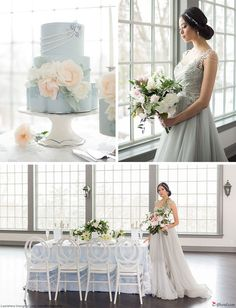 Gorgeous winter wedd