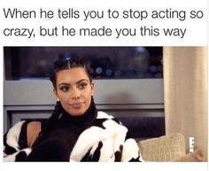 Memes Kardashian, Kim Kardashian, Funny Relatable Memes, Funny Posts, Funny Quotes, Funny Gifs, Gu Family Books, Frases Humor, Michael Fassbender