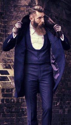 Beard & Suit.