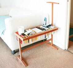 是邊桌也是曬書架