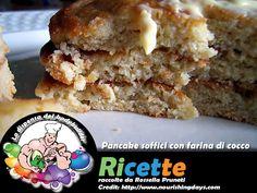 Pancake soffici con farina di cocco
