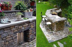 Outdoorküche Garten Edelstahl Blau : Besten outdoorküche bilder auf garten küche kochen