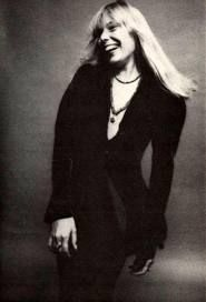 ~Joni Mitchell...saw her in Dallas, late 70's, Reunion Arena, she was runnin round with Dylan, post Hejira