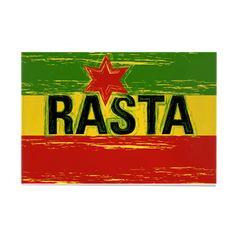 Rectangle Magnet Rasta Love Rectangle Magnet by Rastafari - CafePress Reggae Art, Reggae Music, Rastafarian Beliefs, Jamaica Culture, Jamaica Shirt, Rasta Art, Custom Fridge Magnets, Painting Burlap, Nesta Marley