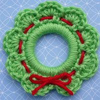 Festive Holiday Wreath Jewelry and Ornaments Part 3
