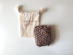 Lavender Sachet with muslin pouch  stocking by handmadehabitat - freshen up for a new year