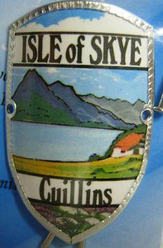 Scotland Isle of Skye Cuillins New Mount stocknagel Hiking Medallion G9764   eBay