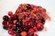 Cranberry Orange Relish www.detoxfromhome.com