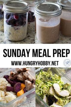 easy #mealprep recipes to make NOW! Weekend Meal Prep, Lunch Meal Prep, Meal Prep For The Week, Healthy Meal Prep, Healthy Eating, Healthy Food, Lunch Recipes, Dinner Recipes, Healthy Recipes