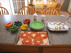Olympic Party Foods | Olympic Food - fun to theme things out for the Olympics! (jb)