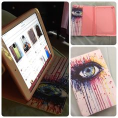 iPad Mini 3 Case Eye patterned PU leather full body case holder with stand for iPad Mini 3 Accessories Tablet Cases
