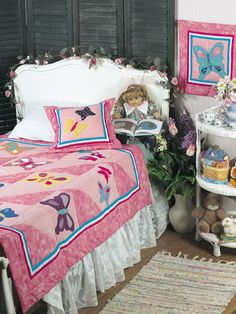 Butterfly Bedroom Quilting Pattern