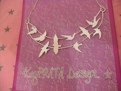 Keyla Serafim *Designer de joias: Lançamento exclusivo! Colar em prata pássaros, representando a liberdade!