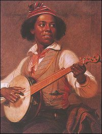 A show in Washington, D.C., features paintings, lithographs and other representations of the banjo. One of America's most endearing musical instruments also played a turbulent role in racial history.