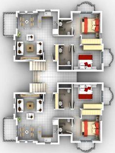 plano dos departamentos, plano complejo departamento, planos de edificio con departamentos
