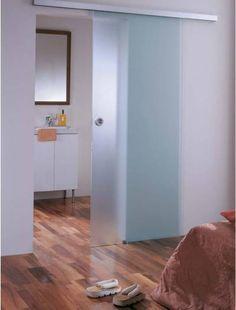 Liukuovi 9x20 GlassHouse katto-/seinäkiinnitys mattalasi eri värivaihtoehtoja