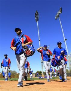 Chicago Cubs spring training 2012.   Baseball 2013 is not far away!!!!