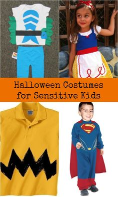 While there are millions of wonderful costume ideas for Halloween, many of them are uncomfortable or tough on sensitive kids. But they don't have to be!