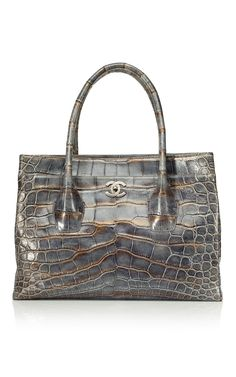 Shop Heritage Auctions Special Collections Vintage Chanel Oversize Cerf Tote at Moda Operandi