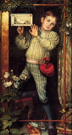 Master Hilary - William Holman Hunt
