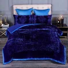 Fluffy Bedding, Fur Bedding, Satin Bedding, Queen Bedding, Comforter Sets, Bedroom Comforters, Bedroom Bed, Glam Bedroom, Bed Rooms