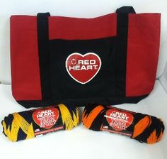 Red Heart Team Spirit Yarn is the perfect yarn choice to use for showing some school spirit and cheering on your favorite team. This two color striping yarn is available in 19 different color combinations. Giveaway compliments of Red Heart and AllFreeCroc