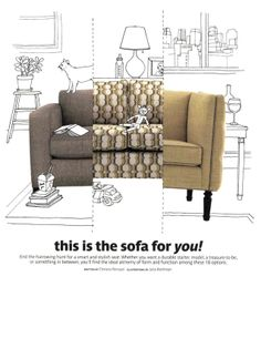 Our modern Ian sofa is named a top choice for every budget in @Real Simple (p1)