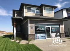 2017 CHBA-Lethbridge Region Parade of Homes - Ready Stack (Color: Almond Buff) Parade Of Homes, Home Builders, Almond, Mountain, Mansions, Stone, House Styles, Gallery, Outdoor Decor