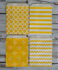 Look at this #zulilyfind! Freesia Yellow Treat Bag - Set of 40 by Expect Personality #zulilyfinds
