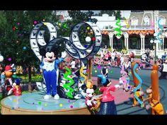 Parade - Disney Dreams Come True - Magic Kingdom - Video - 2008 Eye Strain, Hair Raising, Sound Design, Racing, Games, Disney, Youtube, Top, Growing Out Hair