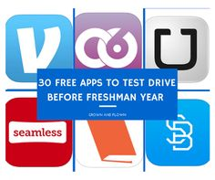 Snare your off-to-college teen, ask him to sit with you, phone in hand, and take a look at a these 30 free apps to download now before he's truly gone.