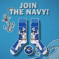 Join the navy [|] #cupofsox #skarpetki #skarpetka #socks #sock #womensocks #mensocks #koloroweskarpetki [|]