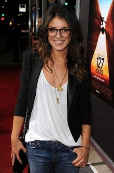 Grab yourself some glasses similar to the ones Shanae Grimes is wearing, here's a pair of Dolce  Gabbana glasses http://www.valleyoptics.co.uk/dolce-and-gabbana-dg-3154-p.html