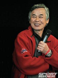 Tadao Baba Creator of the classic CBR900RR