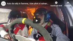 Auto da rally in fiamme, i due piloti si salvano all'ultimo secondo - VIDEO AUTO DA RALLY IN FIAMME, I DUE PILOTI SI SALVANO ALL'ULTIMO SECONDO: dal sedile posteriore della vettura di Ezequiel Castañón e del suo copilota Julian Arzeno si sono improvvisamente levate le fiamme. All'inizio, i due piloti non si accorgono del pericolo. Quando il denso fumo nero invade tutto l'abitacolo, bloccano la macchina e si mettono in salvo. Il drammatico incidente è avvenuto durante l Video, Rally