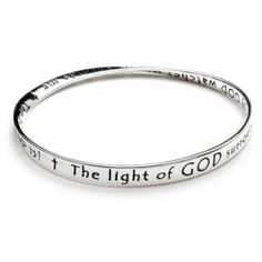 mobius bracelet, The Prayer for Protection, sterling or 14K