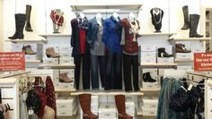 Cato Fashions Locations Tennessee Boot wall catofashions
