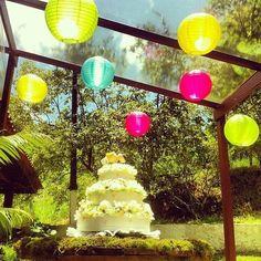 #Festa de #casamento na fazenda #bolo
