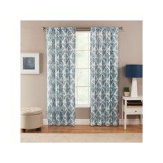 Corona Curtain Linscott Curtain, Blue (Navy)