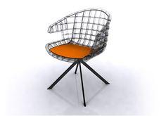 The Webs Chair, designed by Edi e Paolo Ciani.