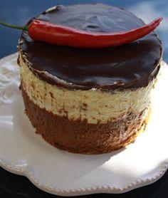 Moussekake med chilisjokolade og pasjonsfrukt