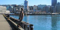 Cruise Ship Port  Destination - Wellington New Zealand