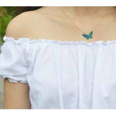 0a4943401d 14 melhores imagens de colar de borboleta artesanato