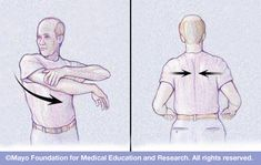Shoulder Stretches: Regular, gentle exercises help you maintain shoulder flexibility and prevent injury recurrence
