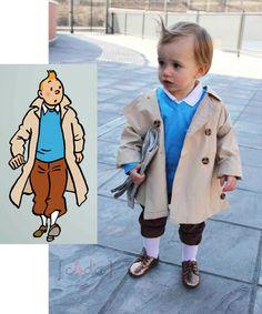 baby tintin cosplay! // precious
