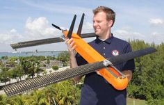 Drones can help predict paths of hurricanes   Instead of dropping parachuted sensors to float down through a storm, the Hurricane Hunters can now remotely control large drones, which then launch smaller drones to swirl around the eye.  All of the drones have sensors and instruments that transmit data back to the plane in real time