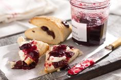 Dried cherry scones fit for high tea!